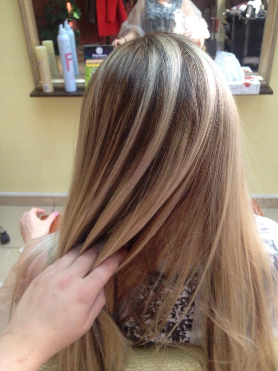 Как сделать кончики волос светлее